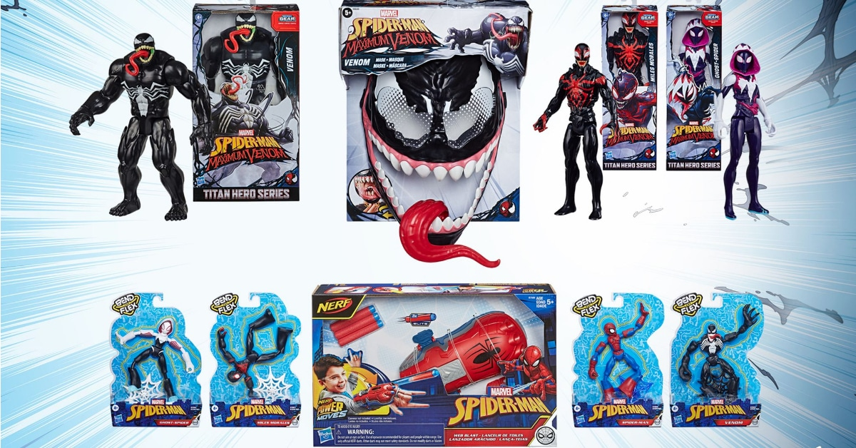 win spiderman venom prize pack