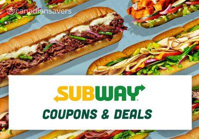 Subway Coupons Deals