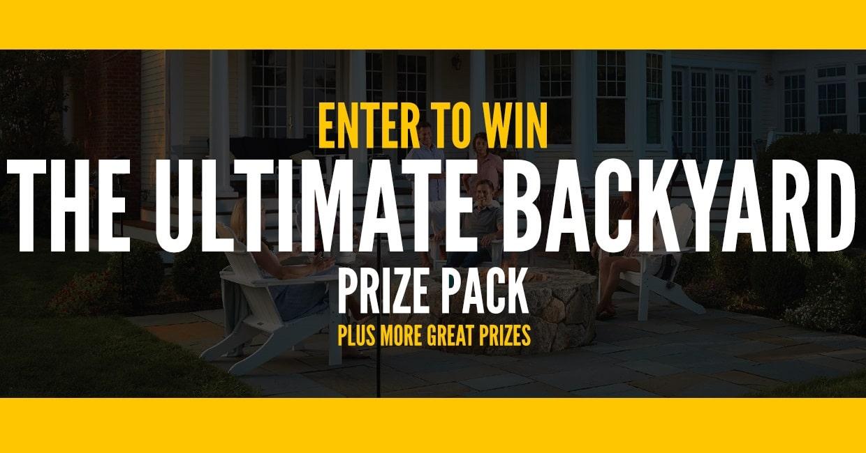 win cabelas ultimate backyard pack