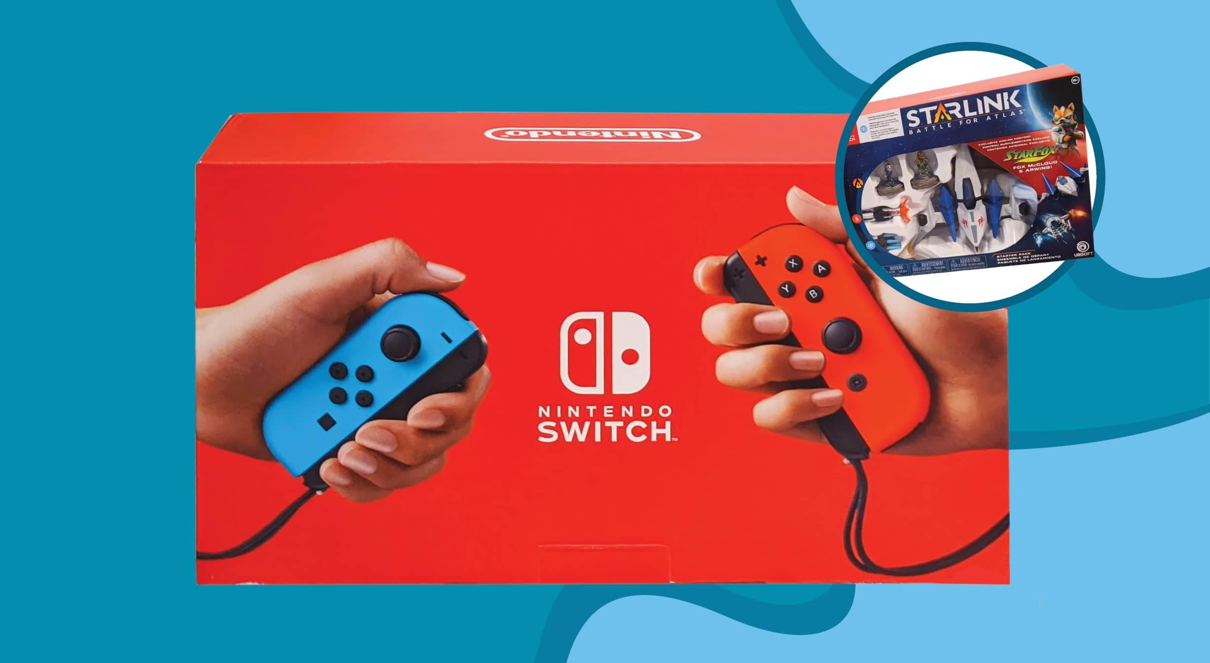 win nintendo switch prize pack