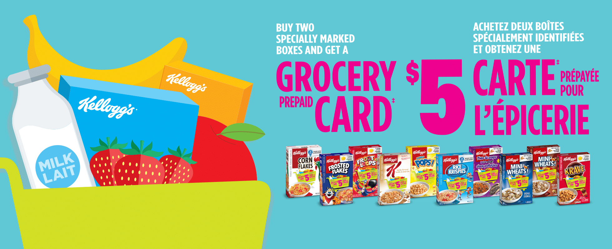 free prepaid grocery gift card kelloggs