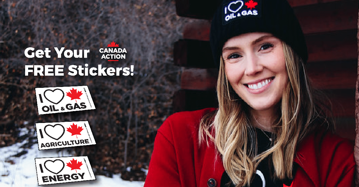 canada action free stickers