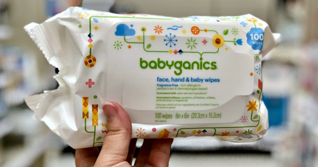 babyganics baby wipes samples