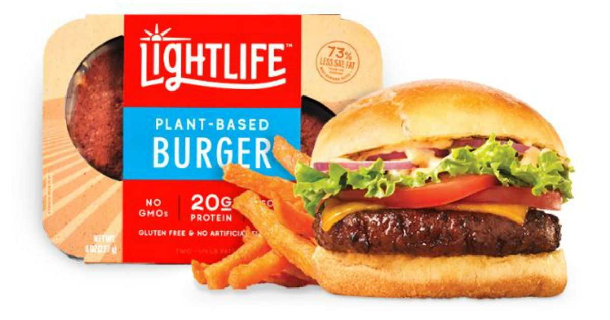 free lightlife burger