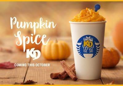 free pumpkin spice kd