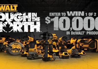 win dewalt tools