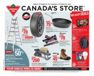 Canadian Tire Flyer