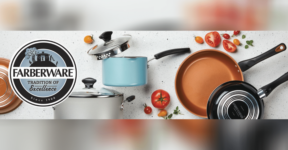 Farberware Nonstick cookware set
