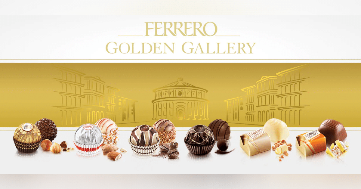 ferrero golden galery free