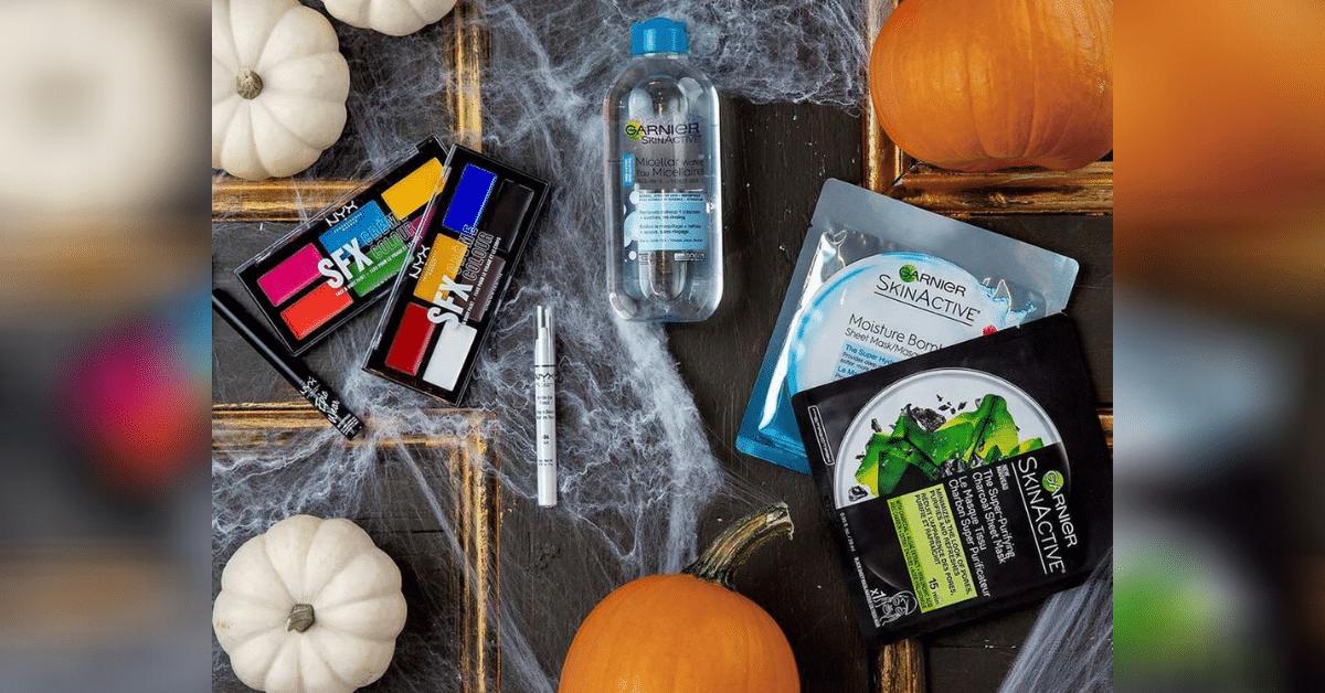 garnier nyx hallowen kit