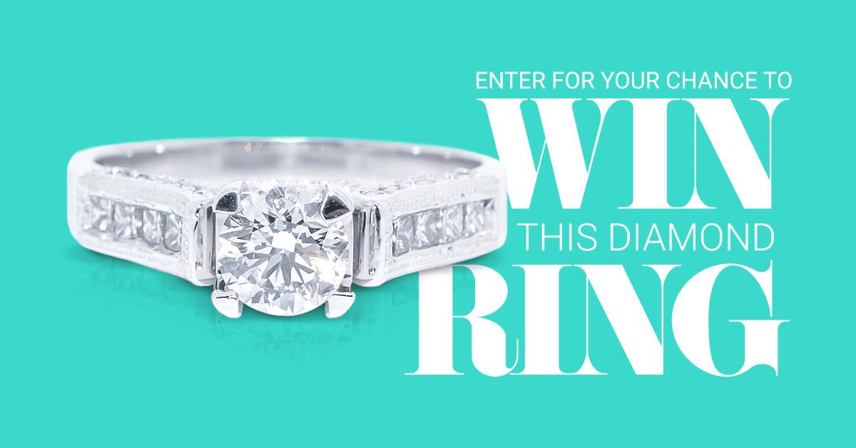 win Graziella diamond ring