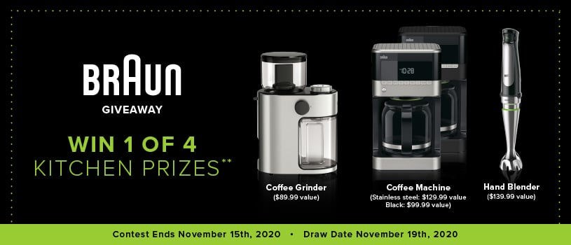 win braun kitchen appliance