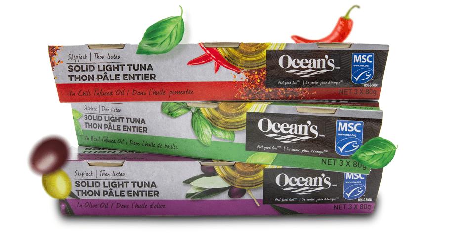 win oceans tuna in oil