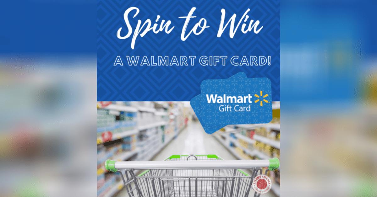 win walmart gift cards