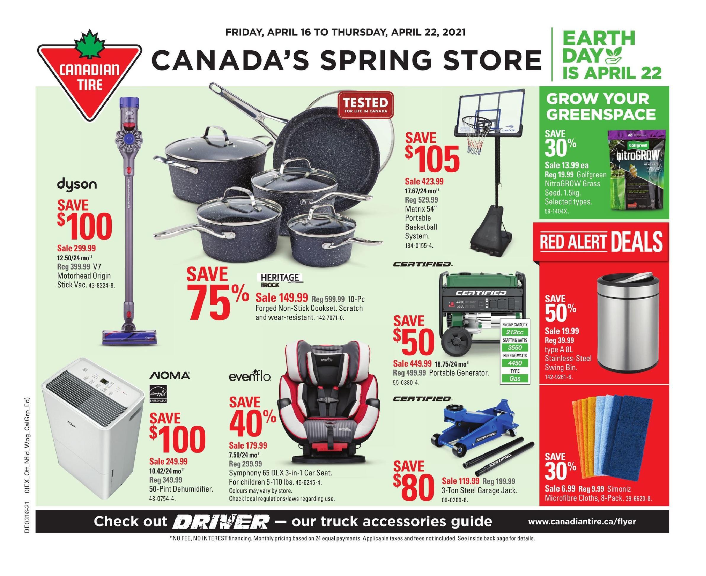 01 Canadian Tire Flyer April 16 April 22 2021