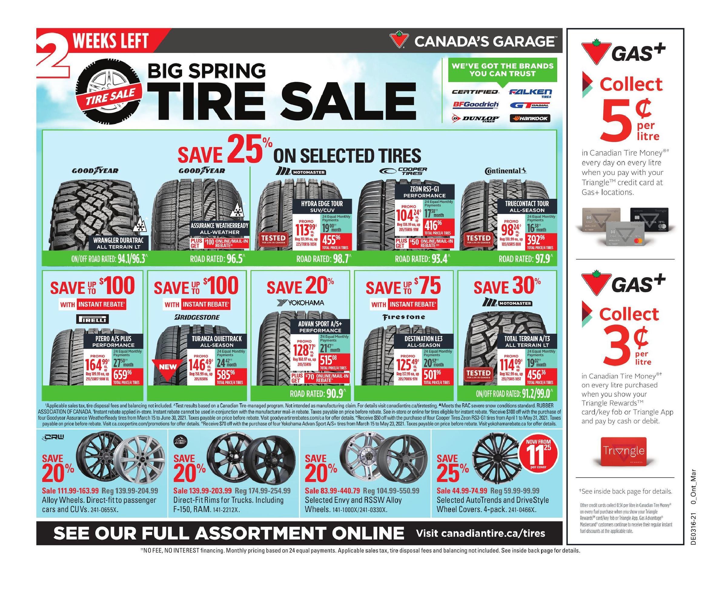 36 Canadian Tire Flyer April 16 April 22 2021