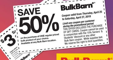 Bulk Barn Coupons Deals
