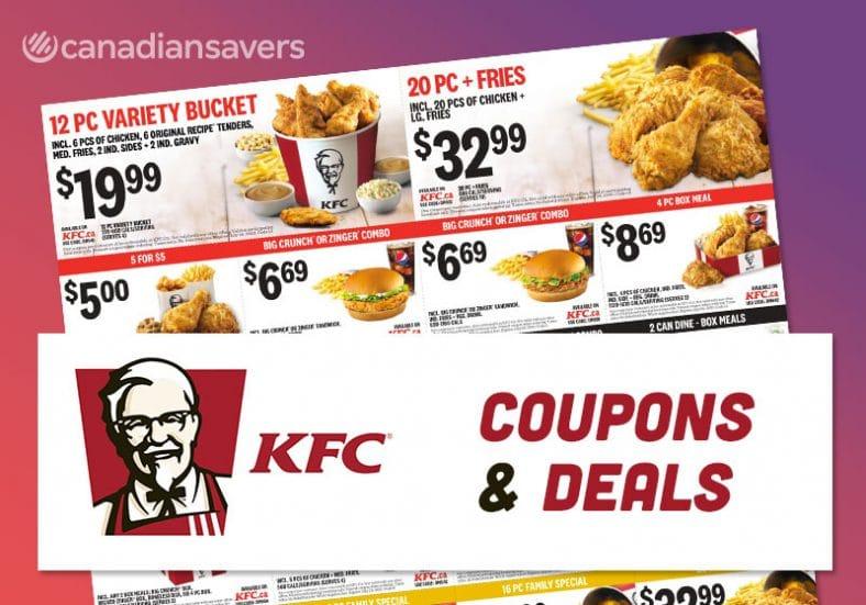 KFC Coupons Canada