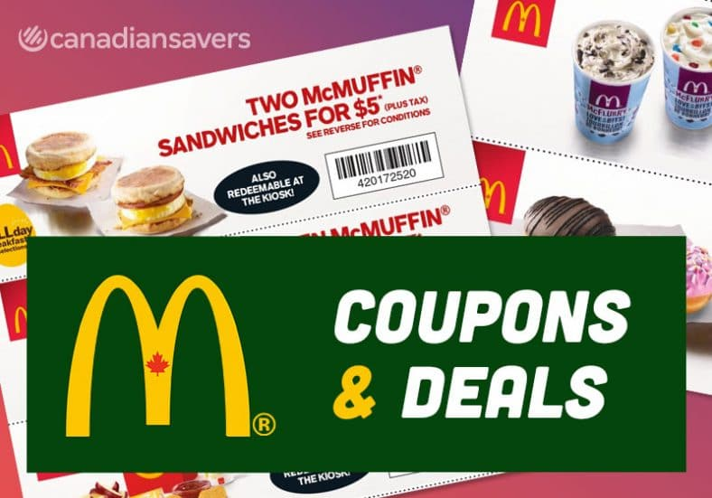 Mc Donalds Coupons Deals