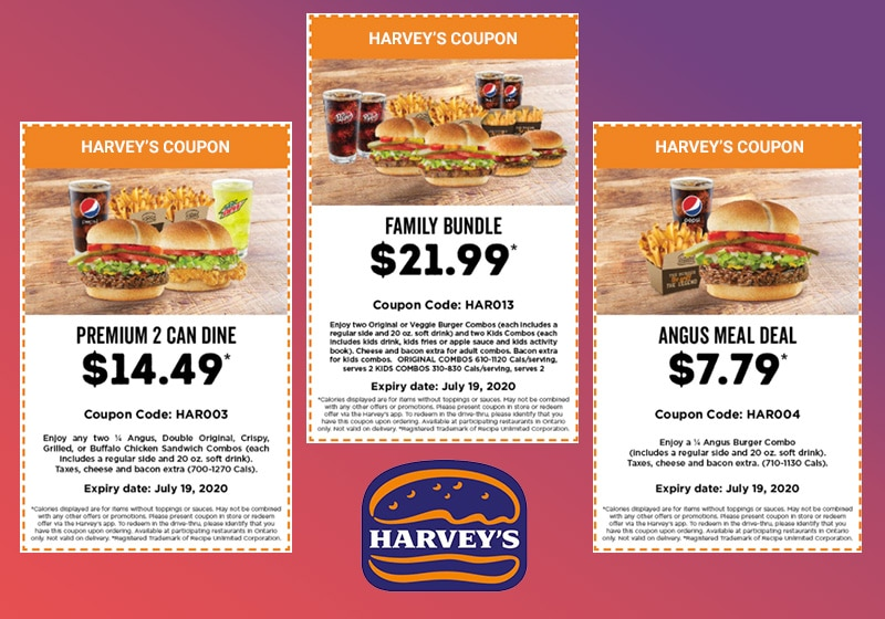 Harveys Coupons Deals