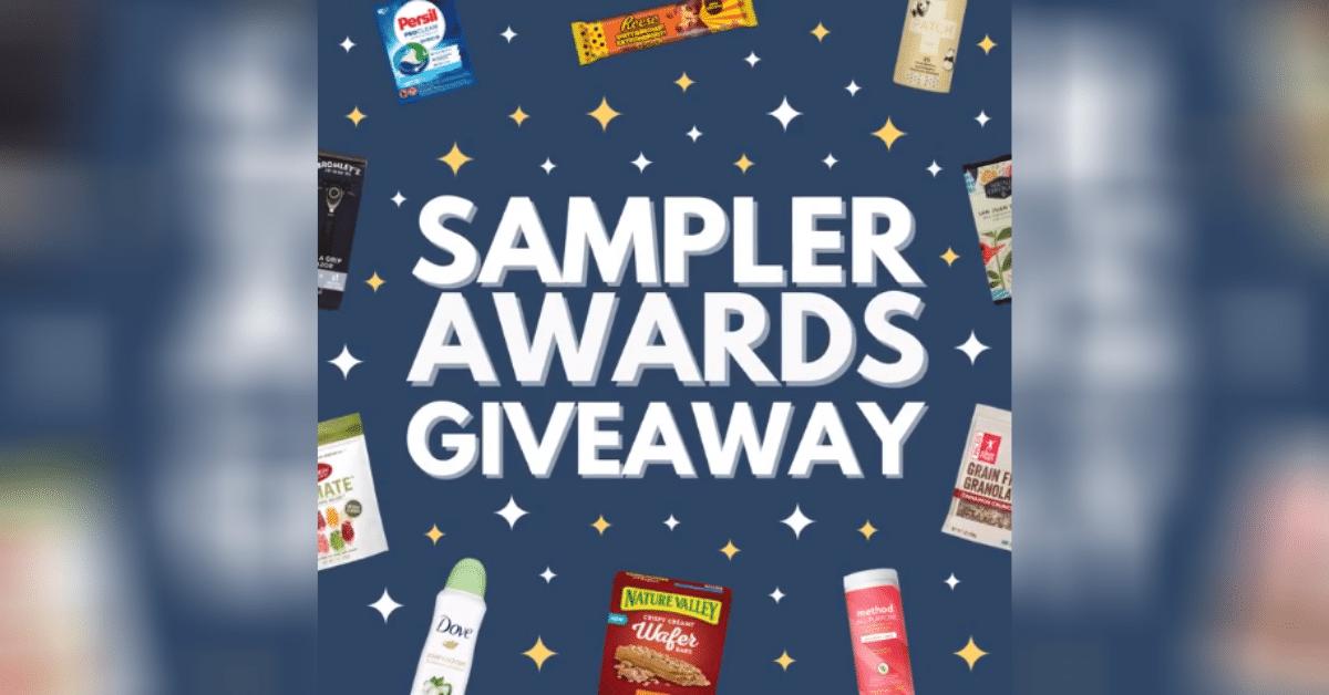 Sampler Awards Giveaway
