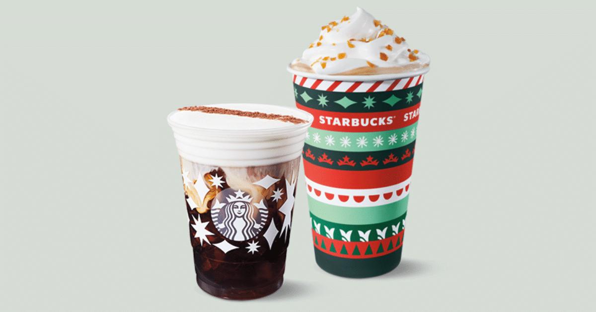 Starbucks Buy one Get one free