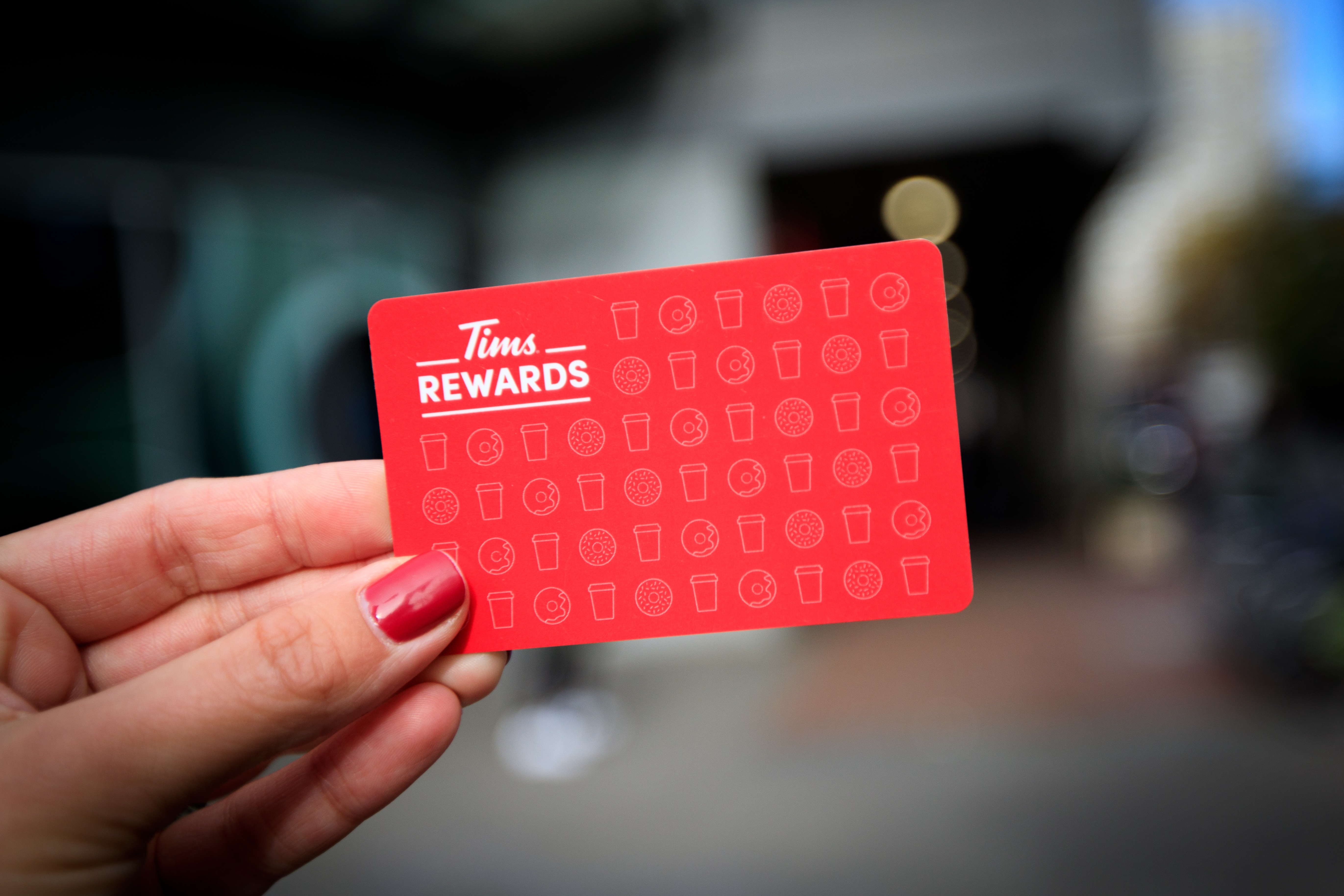 Tim Hortons Rewards Card