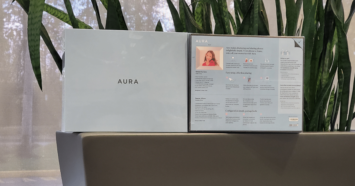 aura digital frames best buy contest