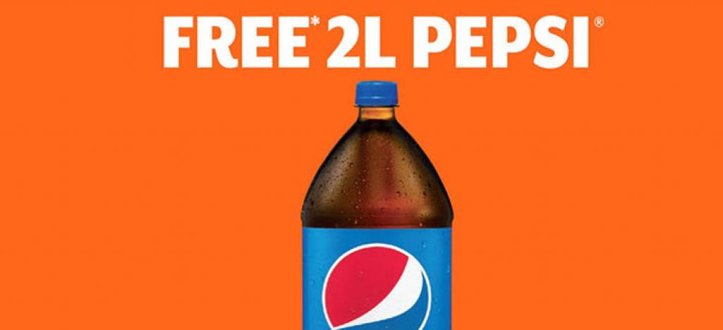 free pepsi