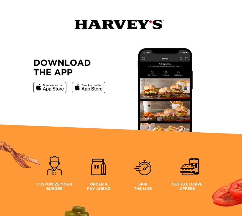 harveys mobile app