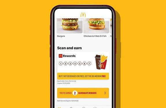 mcdo my rewards app
