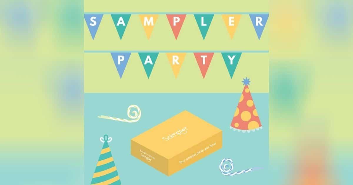 sampler party samples