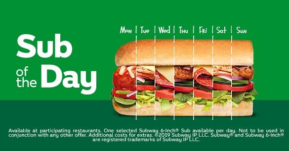 subway exclusive deals