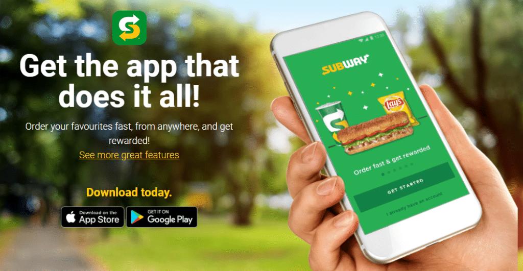 subway mobile app