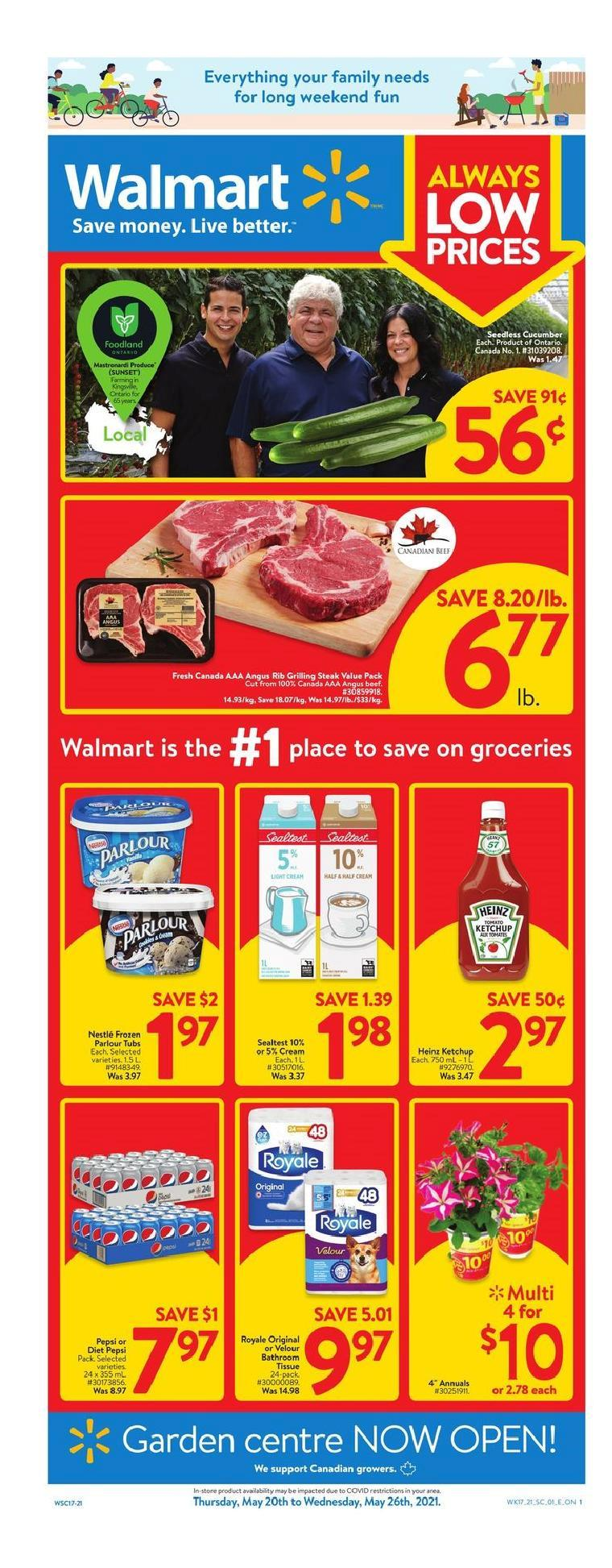 01 Walmart Supercentre Flyer May 20 May 26 2021