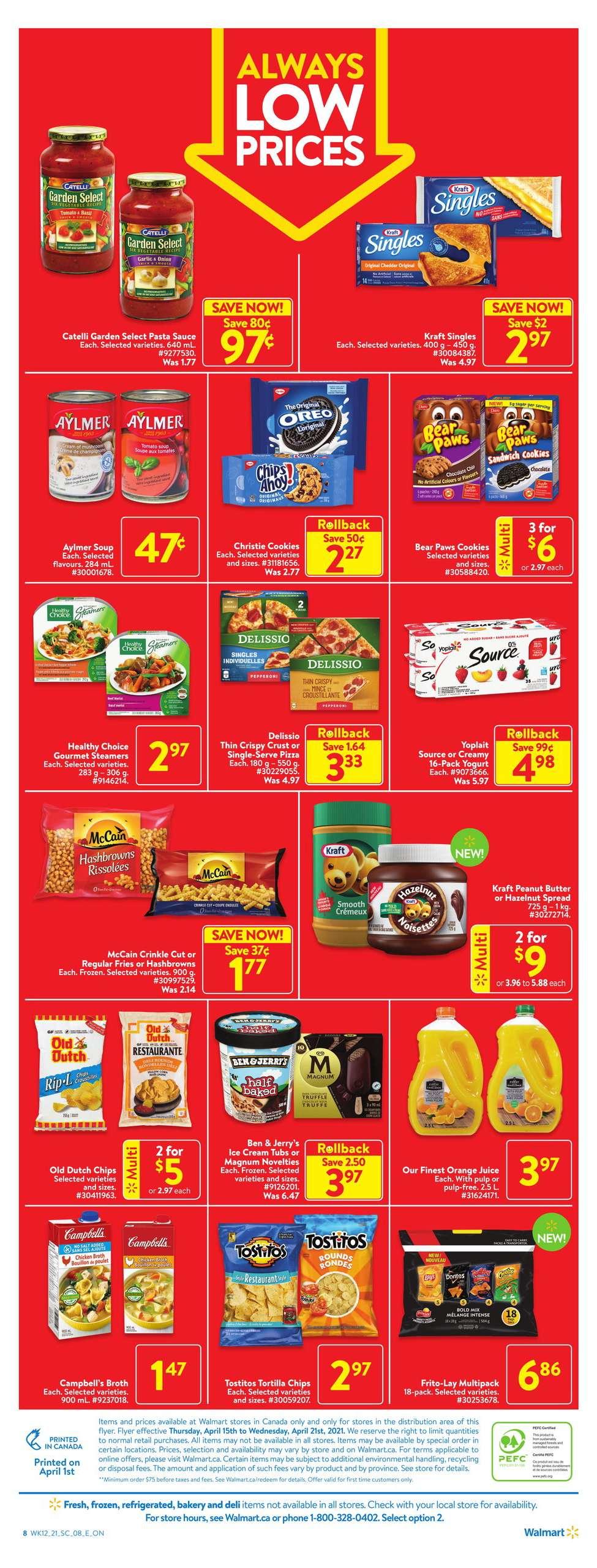 04 Walmart Flyer Sale April 15 April 21 2021