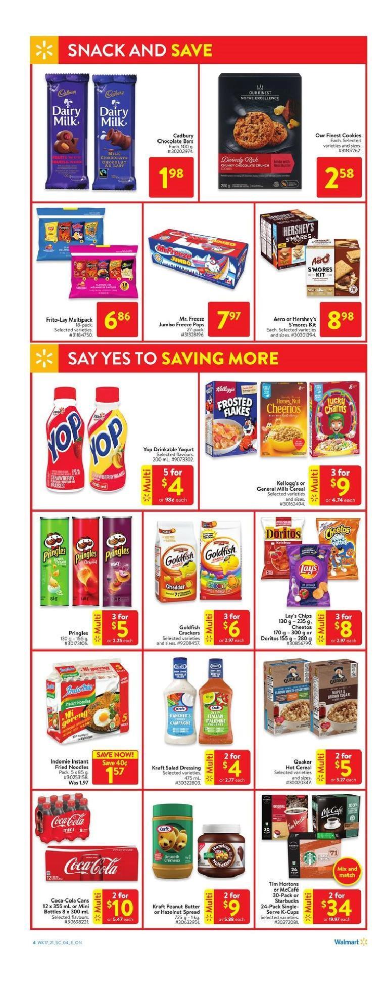 04 Walmart Supercentre Flyer May 20 May 26 2021