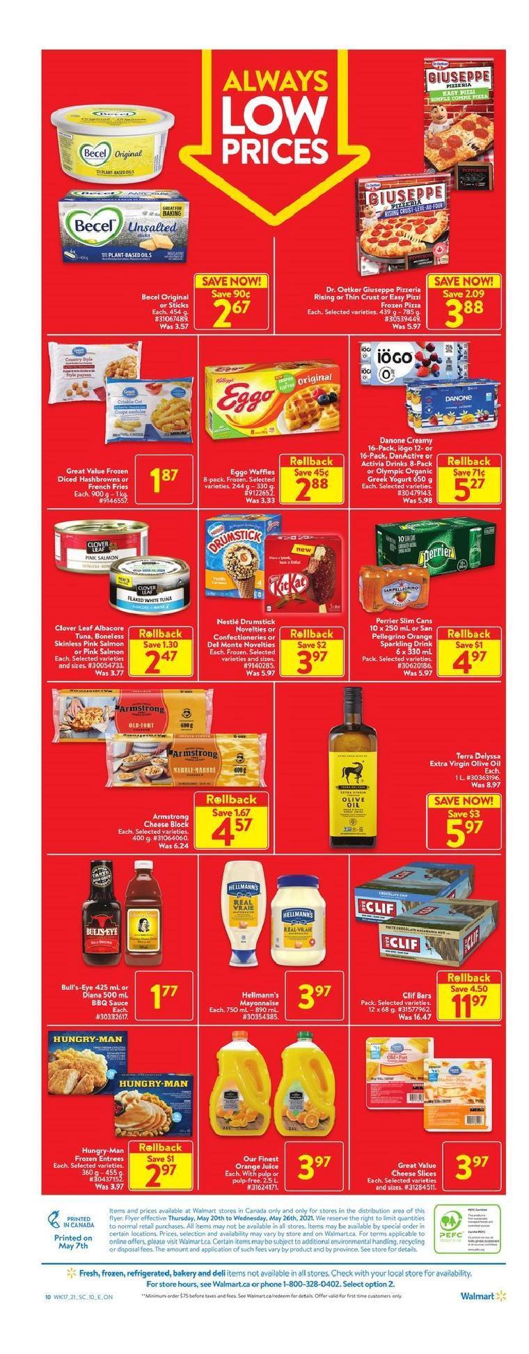 05 Walmart Supercentre Flyer May 20 May 26 2021