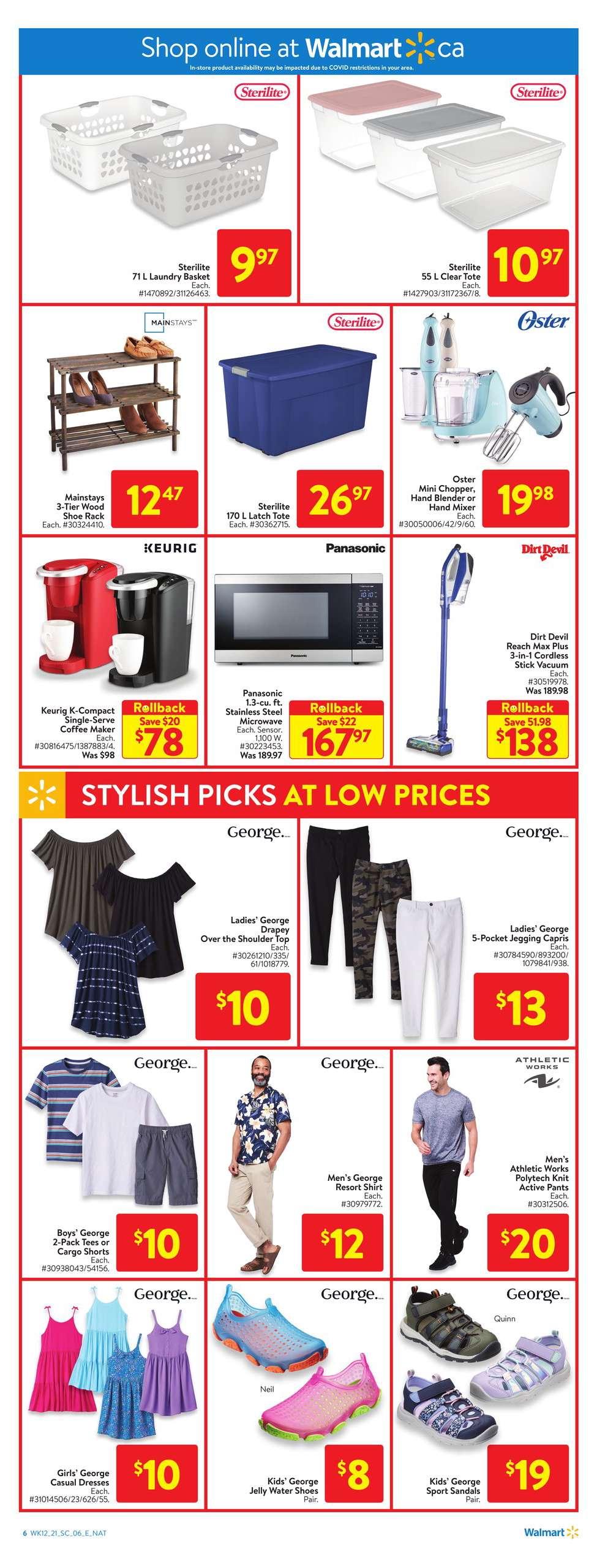 10 Walmart Flyer Sale April 15 April 21 2021