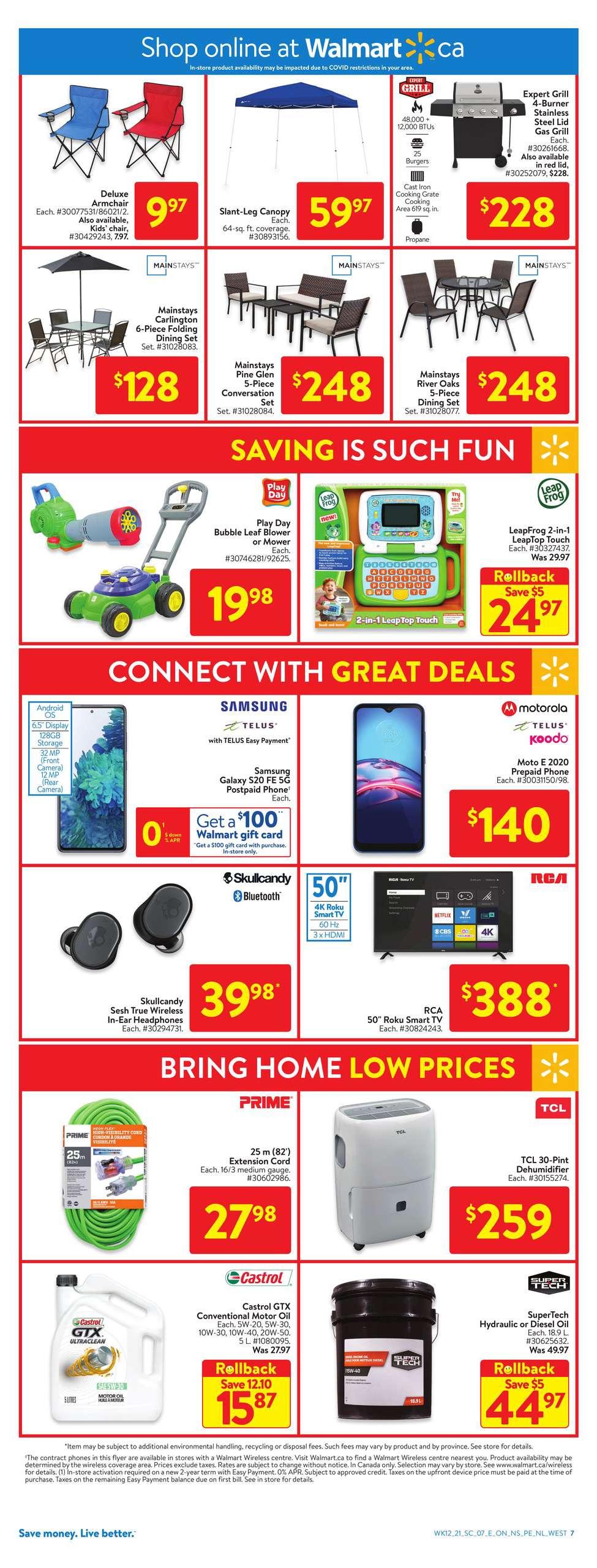 11 Walmart Flyer Sale April 15 April 21 2021