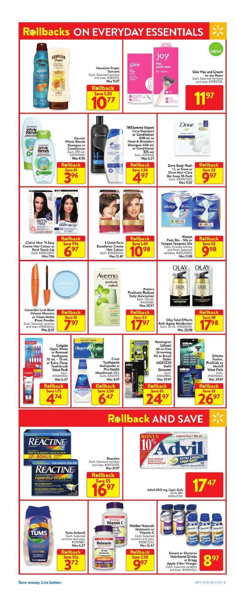 11 Walmart Supercentre Flyer May 20 May 26 2021
