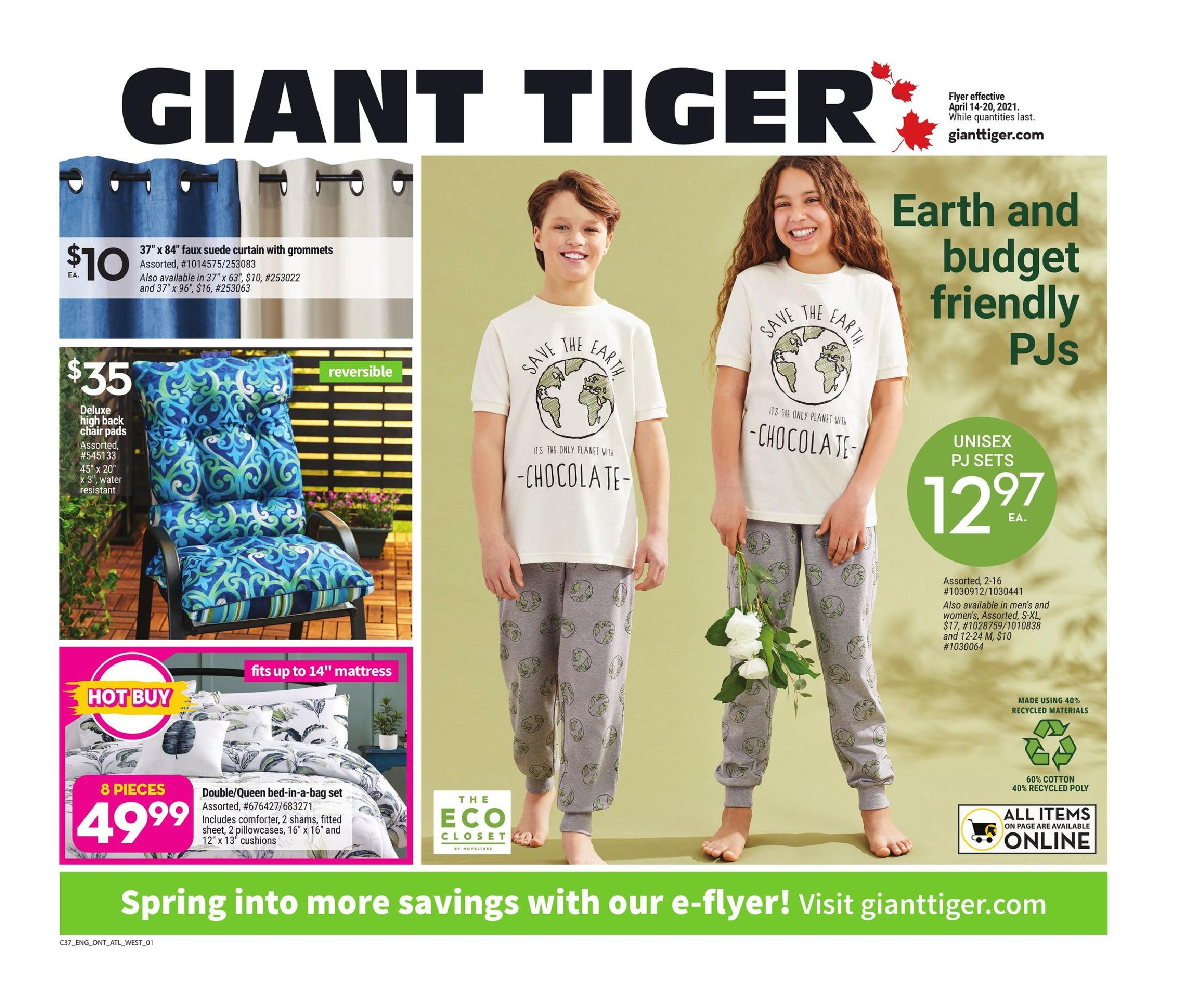 12 Giant Tiger ON Flyer April 14 April 20 2021