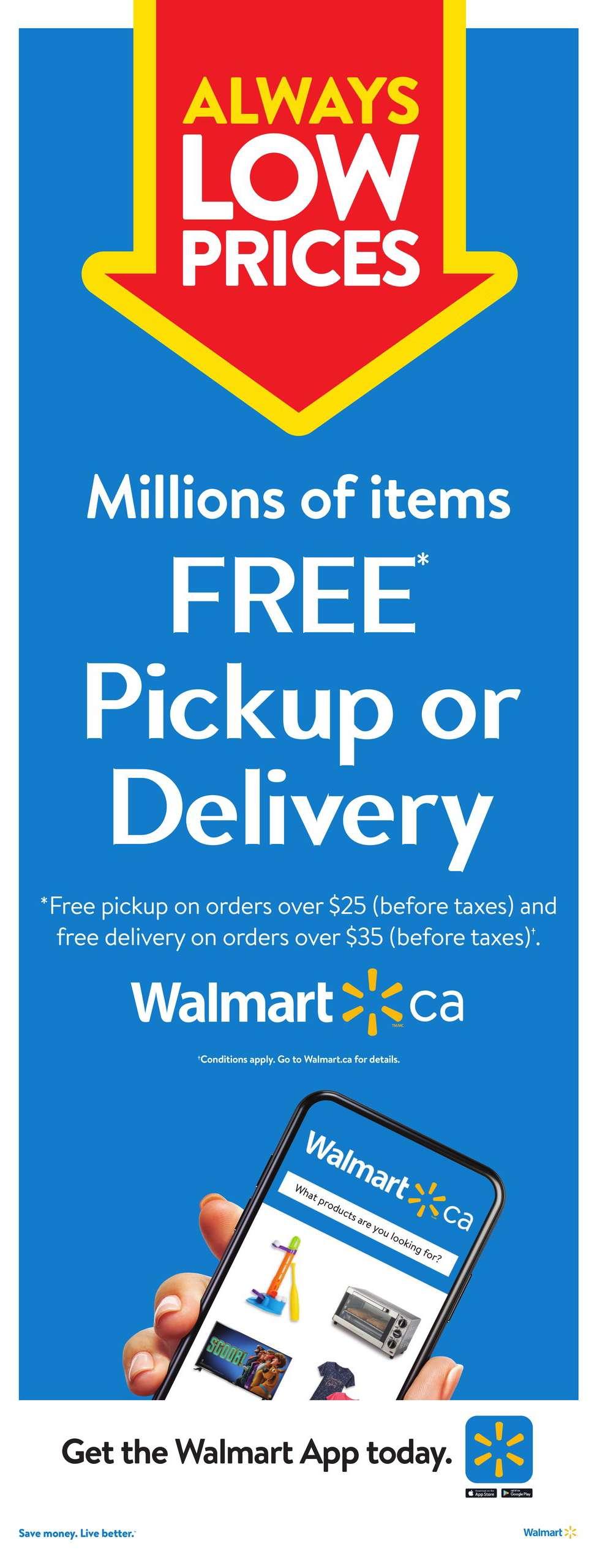 12 Walmart Flyer Sale April 15 April 21 2021
