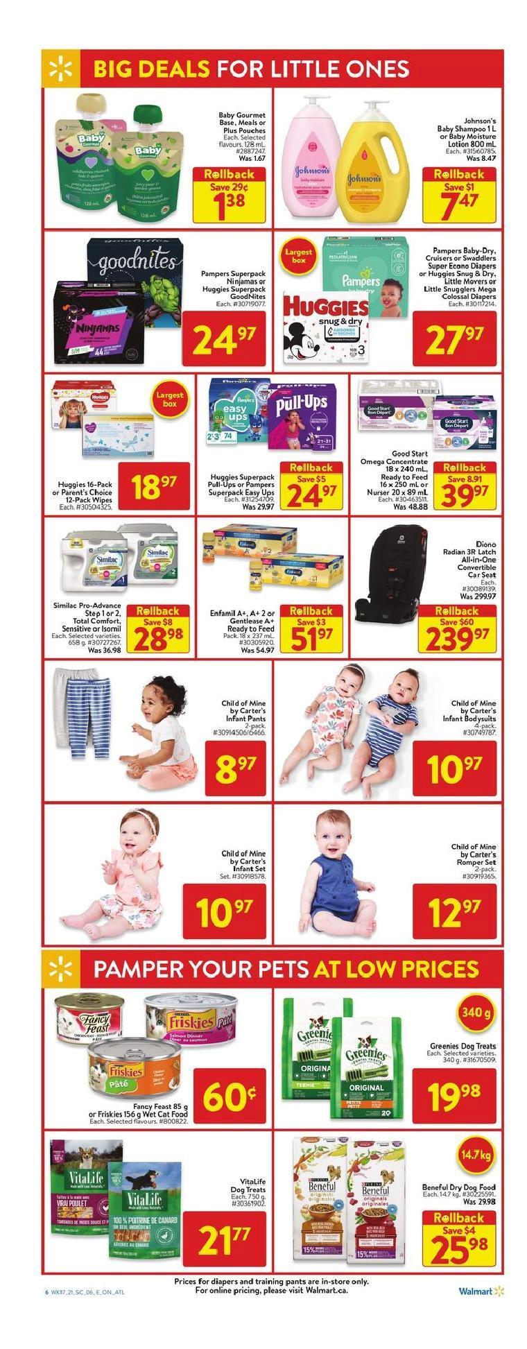 12 Walmart Supercentre Flyer May 20 May 26 2021