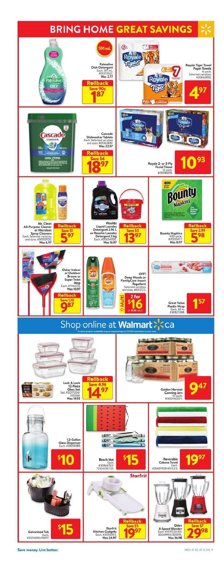 13 Walmart Supercentre Flyer May 20 May 26 2021