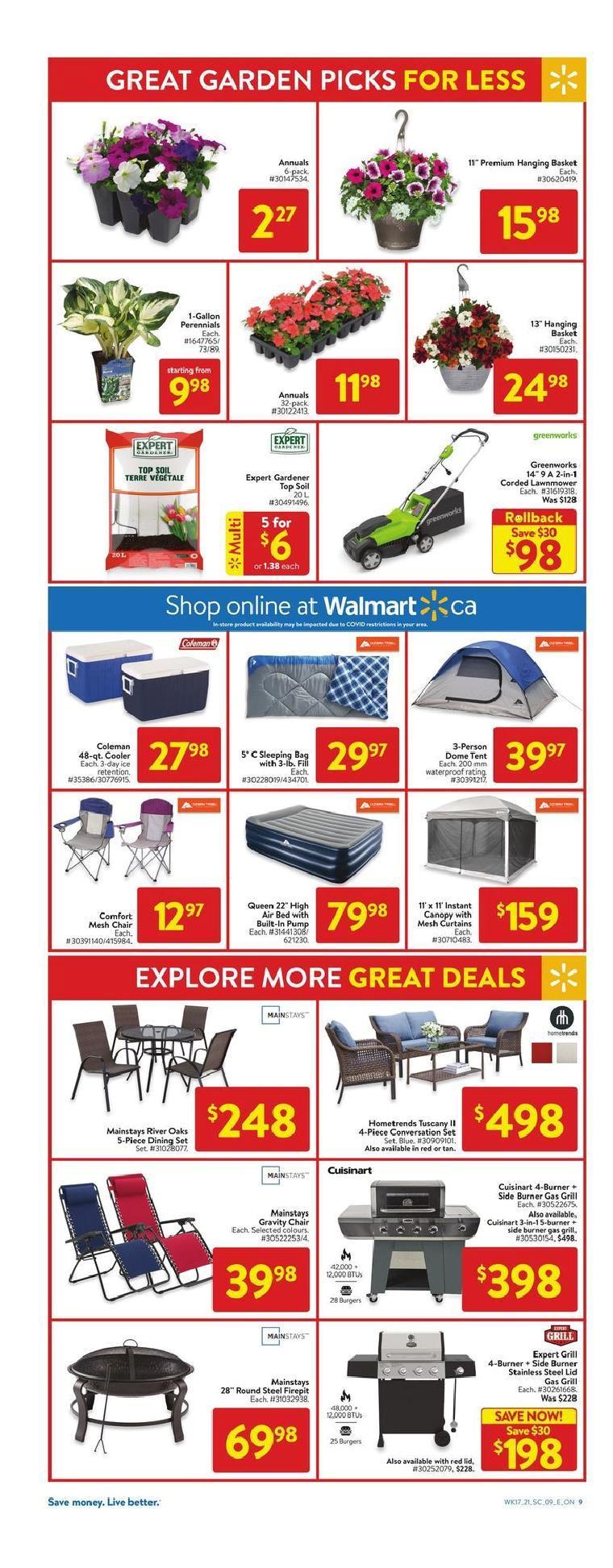 16 Walmart Supercentre Flyer May 20 May 26 2021