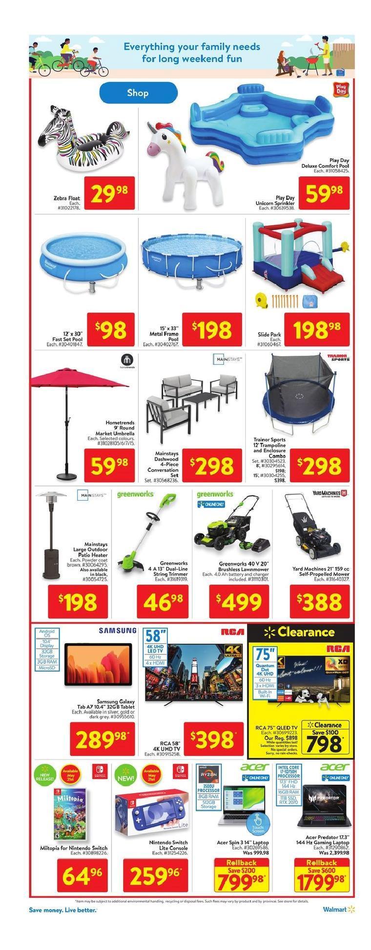 17 Walmart Supercentre Flyer May 20 May 26 2021
