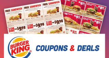 Burger King Coupons Canada