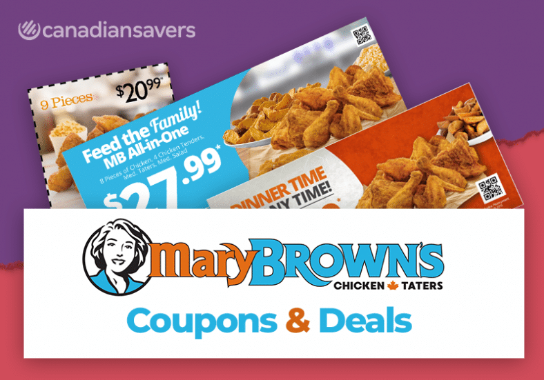 Mary Browns Coupons Canada