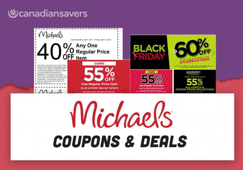 Michaels Canada Coupons